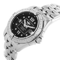 Breitling Cockpit Lady Steel Black Diamond Dial 32 mm