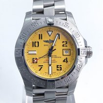 Breitling Avenger Seawolf Ii Yellow Dial Complete Set Ref:a173...