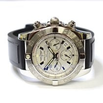 Breitling Chronomat B01 44mm Stainless Steel Mens Watch on...