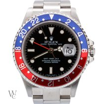 Rolex GMT-Master II Pepsi Rare Rectangular Dial 40mm (Box Only)