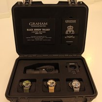 Graham Steel 47mm Automatic 2CCAU.CO2C.K94N & 2CCAU.E03C.K93N & 2CCAU.S02C.K97N new
