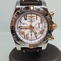 Breitling Chronomat 44 Steel gold Special dial Chronograph...