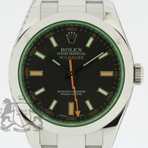 Rolex Milgauss 116400GV Box & Swiss Papers 2009 SERVICED Warranty