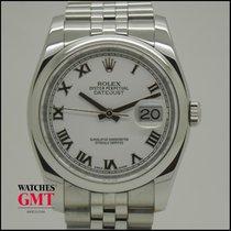 Rolex Datejust 36 White Dial Jubilee Bracelet 2014
