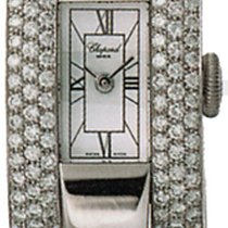 Chopard White gold Quartz White Roman numerals 23mm new La Strada