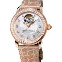 Frederique Constant Ladies Automatic Heart Beat Steel 34mm Mother of pearl