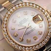 Rolex Lady-Datejust Arany/Acél 26mm Gyöngyház Számjegyek nélkül