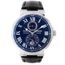 Ulysse Nardin Marine Chronometer 43mm Steel 43mm Blue