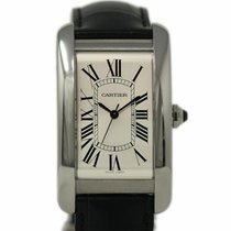 Cartier Tank Américaine new 2018 Automatic Watch with original box and original papers WSTA0018