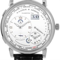 A. Lange & Söhne White gold Manual winding Silver 41.9mm new Lange 1