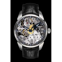 Tissot T-Complication Acero 43mm Transparente Sin cifras