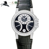 Harry Winston Or blanc 36mm Remontage automatique 400UABI36W occasion