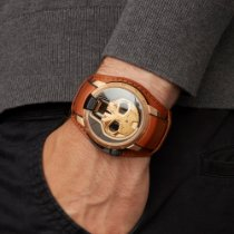 HYT Rose gold 48mm Manual winding S48-DG-57-NF-LM new