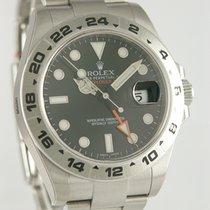 Rolex Explorer II Stahl 41mm Schwarz