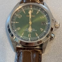 Seiko Spirit Steel 38mm Green Arabic numerals United States of America, New Jersey, Bayville
