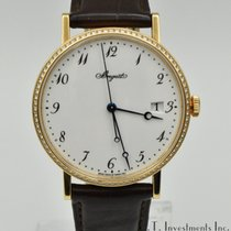 Breguet Rose gold Automatic White Arabic numerals 38mm pre-owned Classique