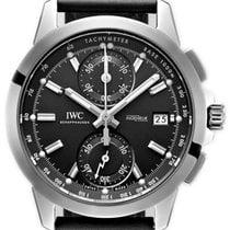 IWC Ingenieur Chronograph Титан 44,3mm Чёрный