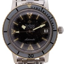 Zodiac Steel 35mm Automatic Sea Wolf pre-owned United States of America, California, West Hollywood
