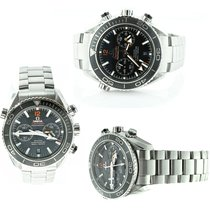 Omega Seamaster Planet Ocean Chronograph Steel 45.5mm Black United States of America, Georgia, Snellville