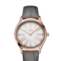 Omega De Ville Trésor Rose gold 36mm Silver Roman numerals United States of America, Florida, Sunny Isles Beach
