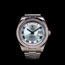 Rolex Day-Date II Platin Schweiz, Geneva