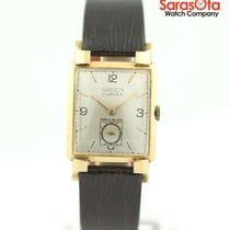 Gruen Yellow gold Manual winding Curvex pre-owned