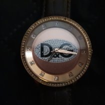 Dolce & Gabbana Gold/Steel 45mm Quartz pre-owned