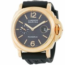 Panerai Luminor Marina Automatic Yellow gold 44mm Black United States of America, Florida, Miami