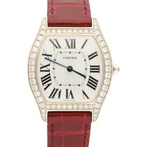 Cartier Tortue Rose gold 31mm Silver United States of America, California, Los Angeles