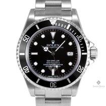 Rolex Sea-Dweller Stainless Steel Black Dial 60min Bezel...