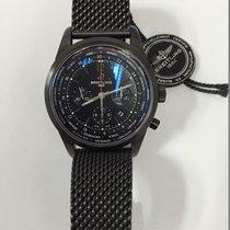 Breitling Transocean Unitime Pilot Blacksteel Limited Edition