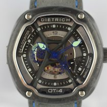 Dietrich Carbone Remontage automatique Dietrich 1969 Organic Time 4 Carbon & Blue OT4 nouveau France, Paris