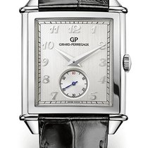 Girard Perregaux Steel Automatic Silver Arabic numerals 36,20mm new Vintage 1945
