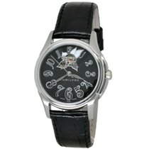 Hamilton Jazzmaster Lady Steel 34mm Black Arabic numerals