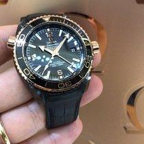 Omega Seamaster GMT Deep Black Ceramica / Oro