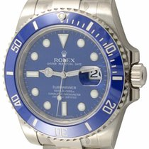 Rolex : Submariner Date :  116619 :  18k White Gold :  : NEW