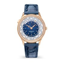 Patek Philippe Rose gold Automatic No numerals 36mm new World Time