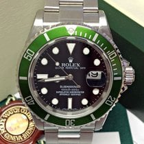 Rolex Submariner Date 16610LV 50th Ann - Serviced by Rolex