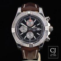 Breitling Super Avenger II Stainless Steel Chronograph 48mm 2016