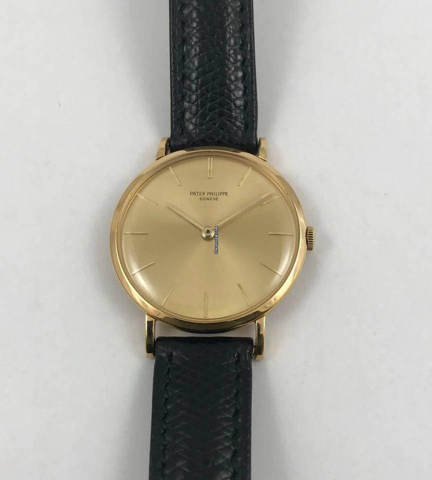 bd34f0c49be Relógios Patek Philippe Calatrava usados