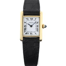 Cartier Vintage  Tank 18K Yellow Gold Ladies