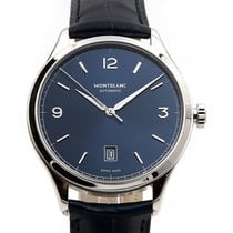 Montblanc Heritage Chronometrie 40mm Automatic Blue Dial