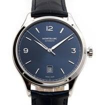 Montblanc Heritage Chronometrie 40mm Automatic Blue Dial