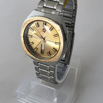 Rado COMPANION III Automatic Steel Gold Dial vintage