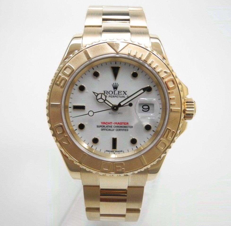 bbf83f0f977 Rolex Yacht-Master Gold 16628