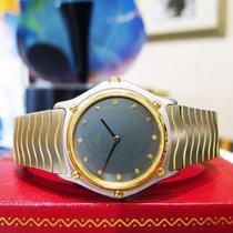 Ebel Classic Wave Stainless Steel & Gold Quartz Ladies Watch