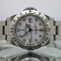 Rolex Explorer II with Box and Papers