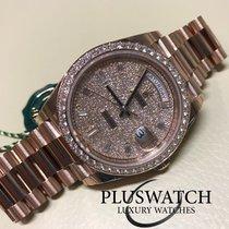 Rolex Day-Date 40mm Everose Diamonds 228345RBR