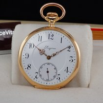 Longines Pocket Watch 14K Solid Gold 1917