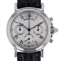 Breguet Marine pre-owned 35mm Platinum